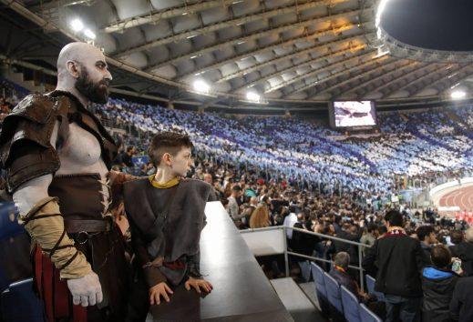 Kratos e Atreus adorano il calcio?!