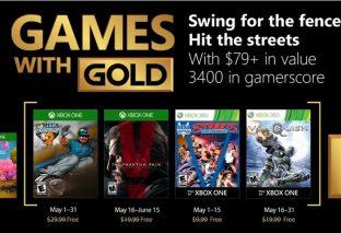 Svelati i giochi di Xbox Live Gold di maggio