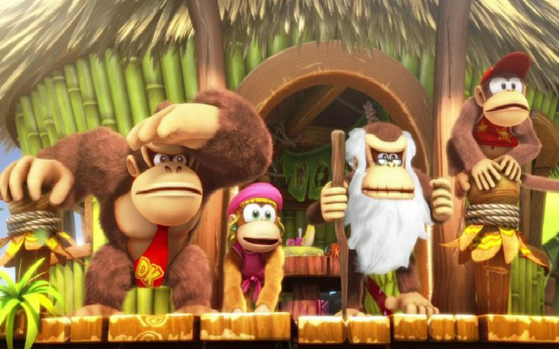 Donkey Kong Country: Tropical Freeze, Diddy e Dixie presentati in video