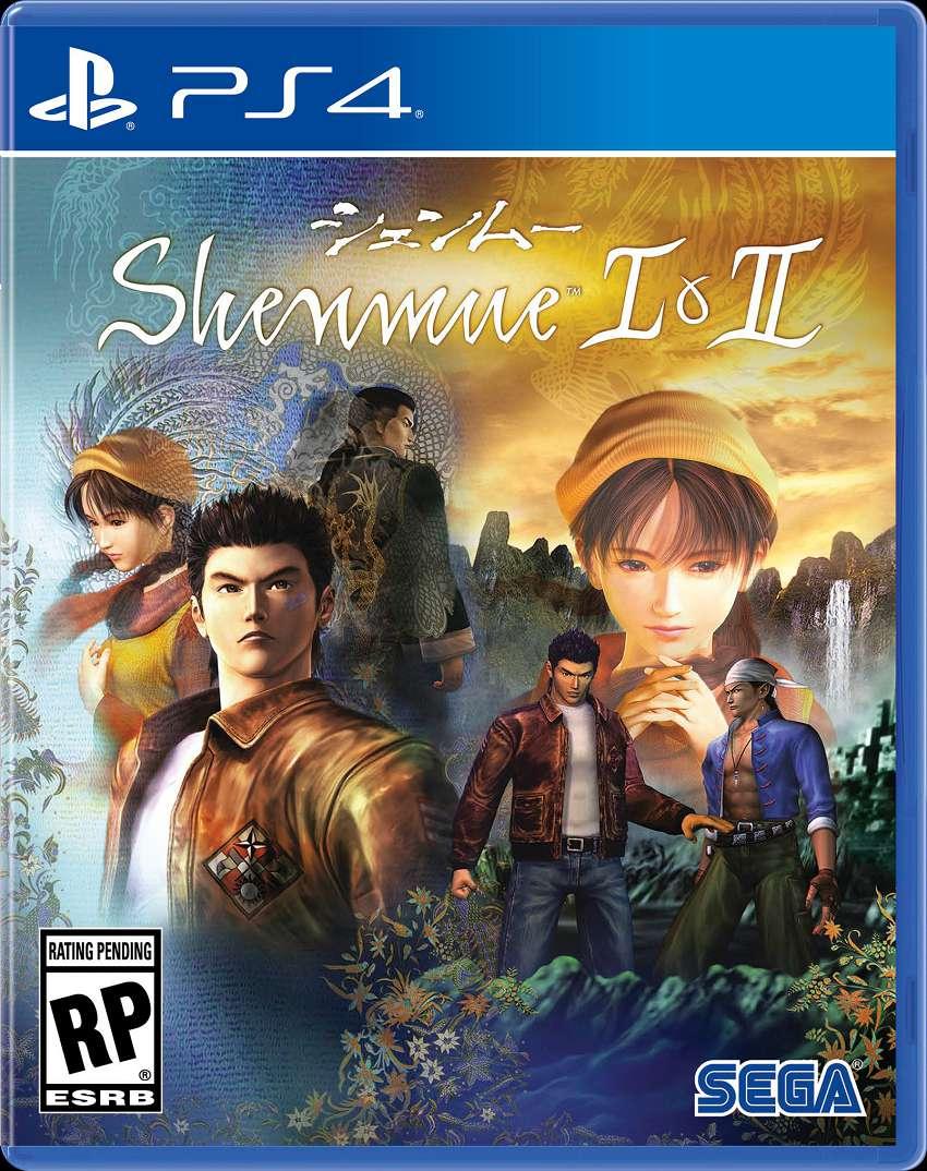 Cover Shenmue 1 e 2 HD