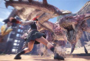 Sakura di Street Fighter in arrivo su Monster Hunter World