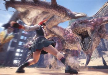 Sakura di Street Fighter in arrivo su Monster Hunter World