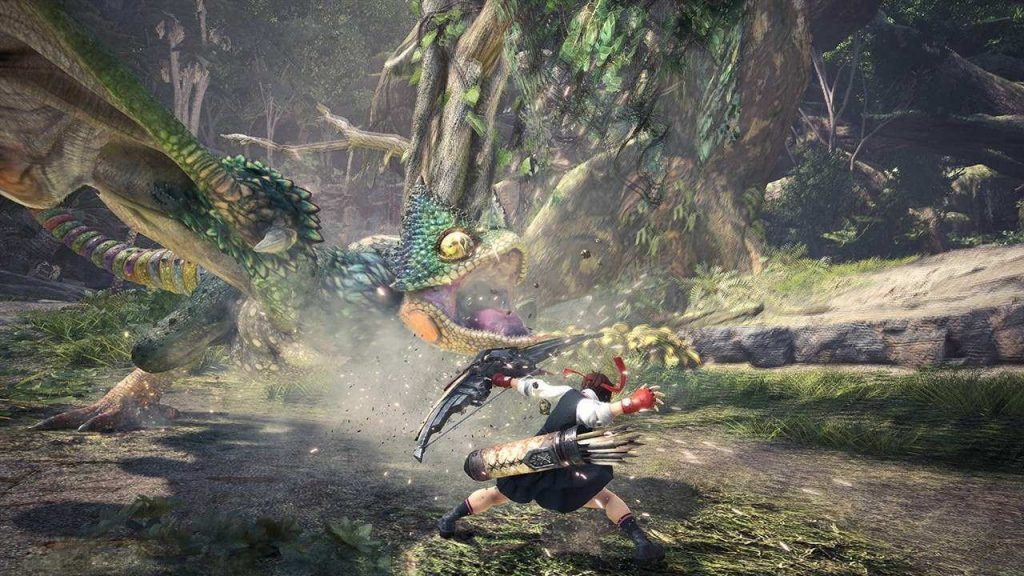 Sakura Monster Hunter World