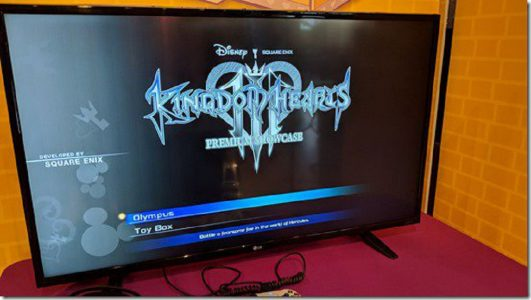 immagini in-game di Kingdom Hearts III