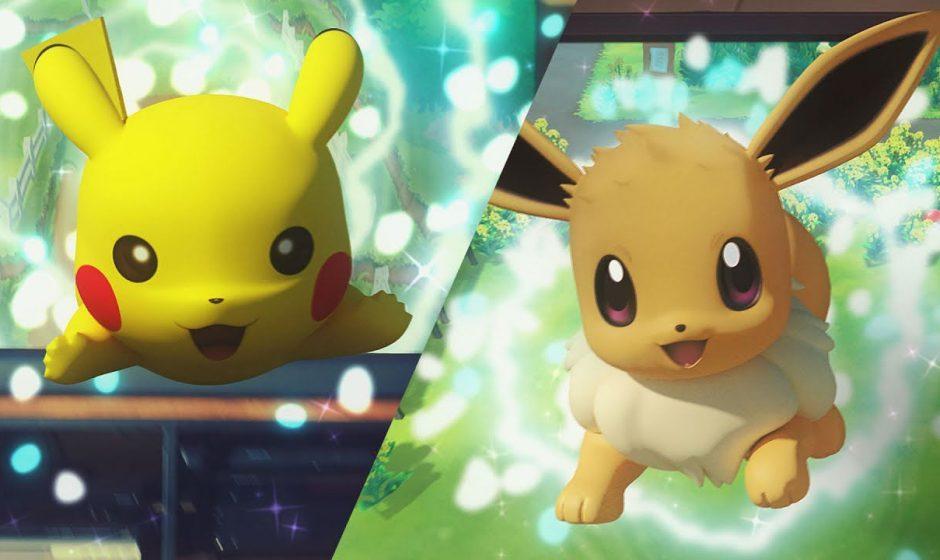Nuovo trailer per Pokémon Let's Go Pikachu! e Eevee!