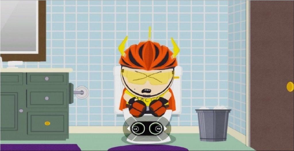 South Park: Scontri Di-Retti scorreggia spaziotemporale