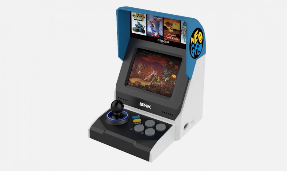 Amazon, compare in catalogo il Neo Geo Mini Christmas Edition