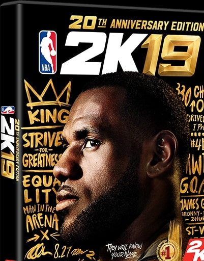 Cover NBA 2K19