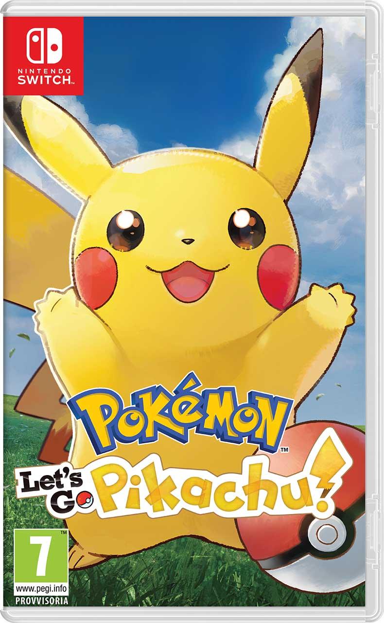 Cover Pokémon Let's Go, Pikachu! / Pokémon Let's Go, Eevee!