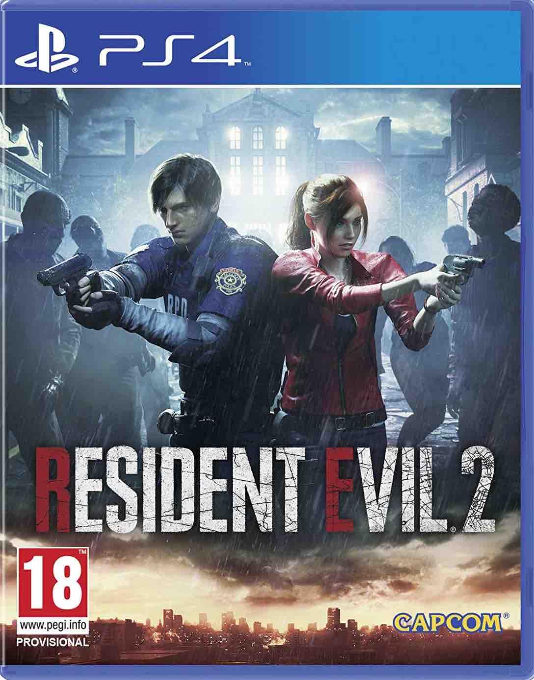 Cover Resident Evil 2 Remake