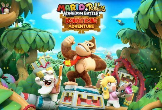Mario + Rabbids Kingdom Battle: trailer del DLC Donkey Kong Adventures