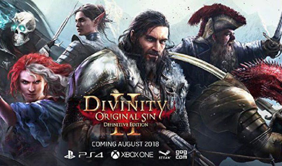 Divinity: Original Sin 2 - Definitive Edition gratuita a tutti i possessori del gioco base su PC