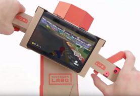 Mario Kart 8 Deluxe ora è compatibile con Nintendo Labo