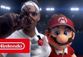 Mario Tennis Aces: Rafael Nadal e Mario si scontrano