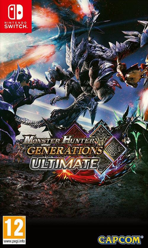 Cover Monster Hunter Generations Ultimate