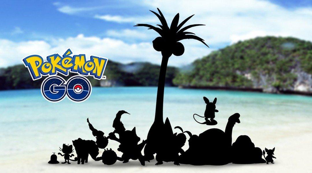 Pokémon Go Forme Alola