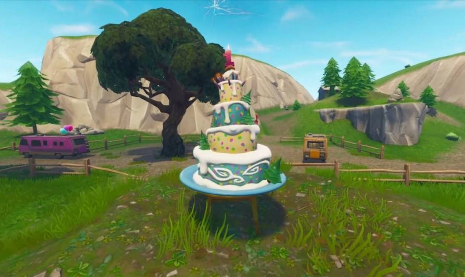 Dove trovare tutte le dieci torte per la sfida di compleanno di Fortnite