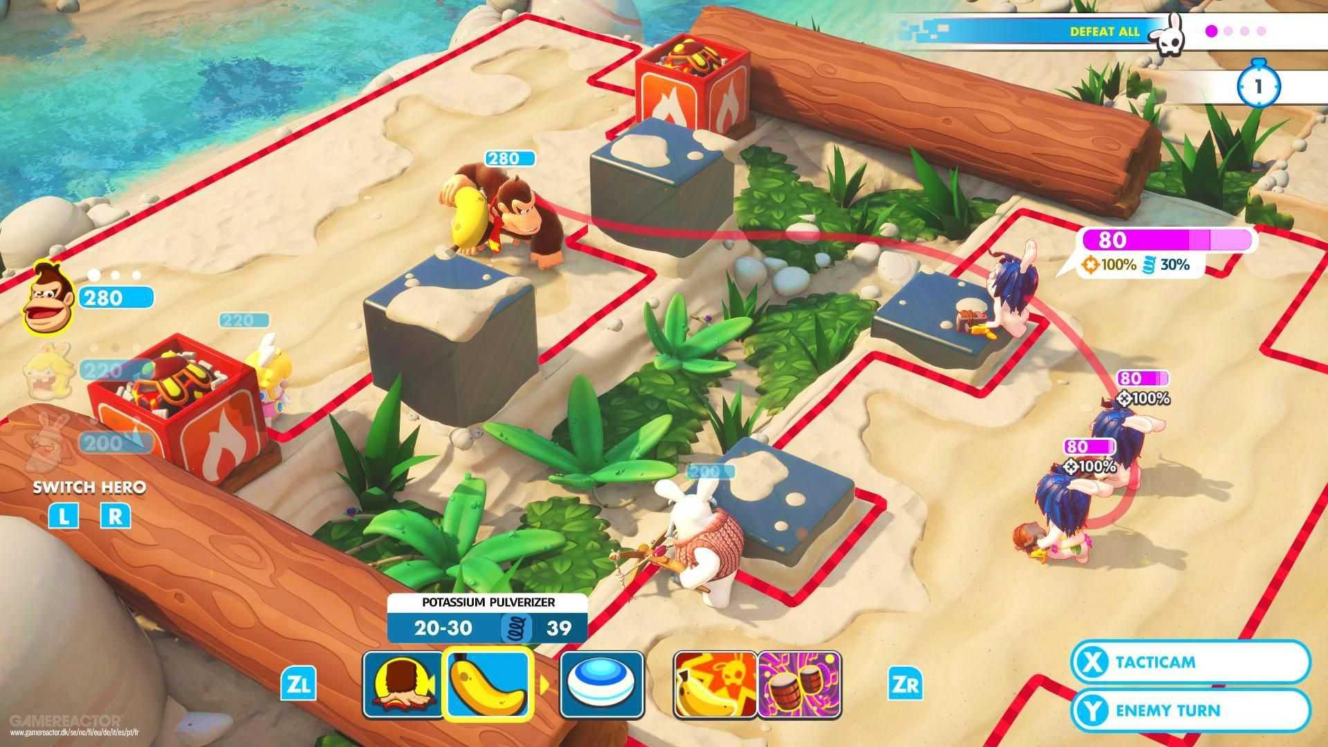 Mario + Rabbids Kingdom Battle Donkey Kong Adventure