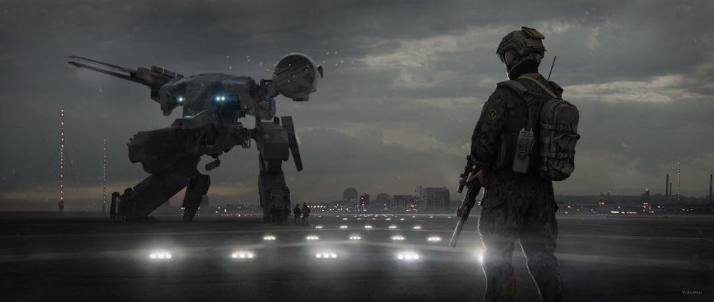 Metal Gear Solid film fan art