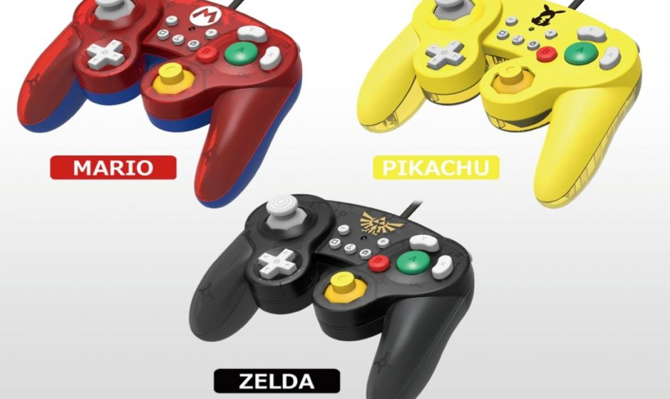 Hori annuncia tre nuovi controller per Nintendo Switch ispirati a GameCube