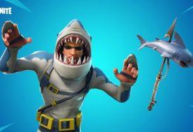 Tra le novità di Fortnite ci sarà uno squalo con un laser sulla testa