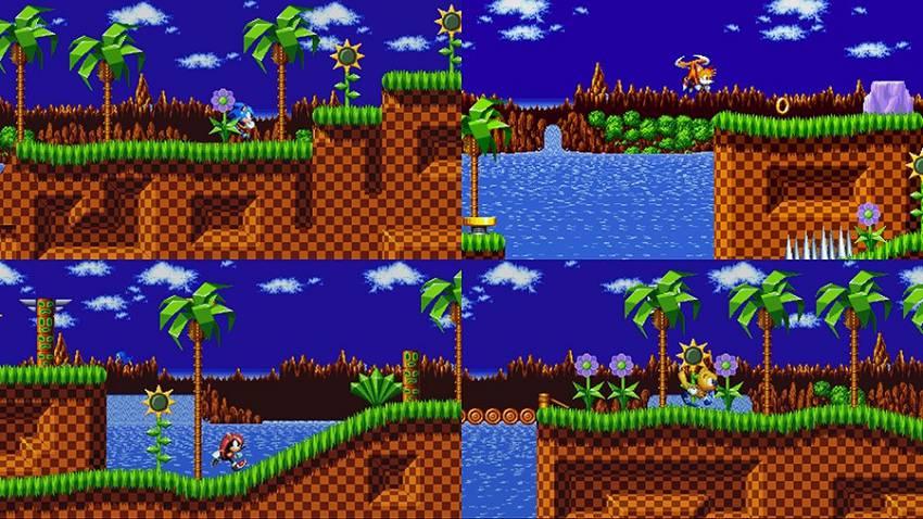 Sonic Mania competizione