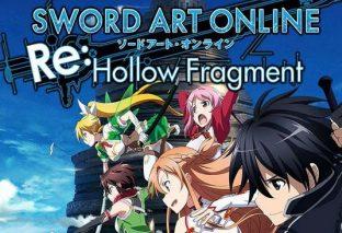 Sword Art Online Re: Hollow Fragment sarà rilasciato su PC questo mese