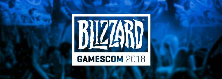 Blizzard Gamescom 2018