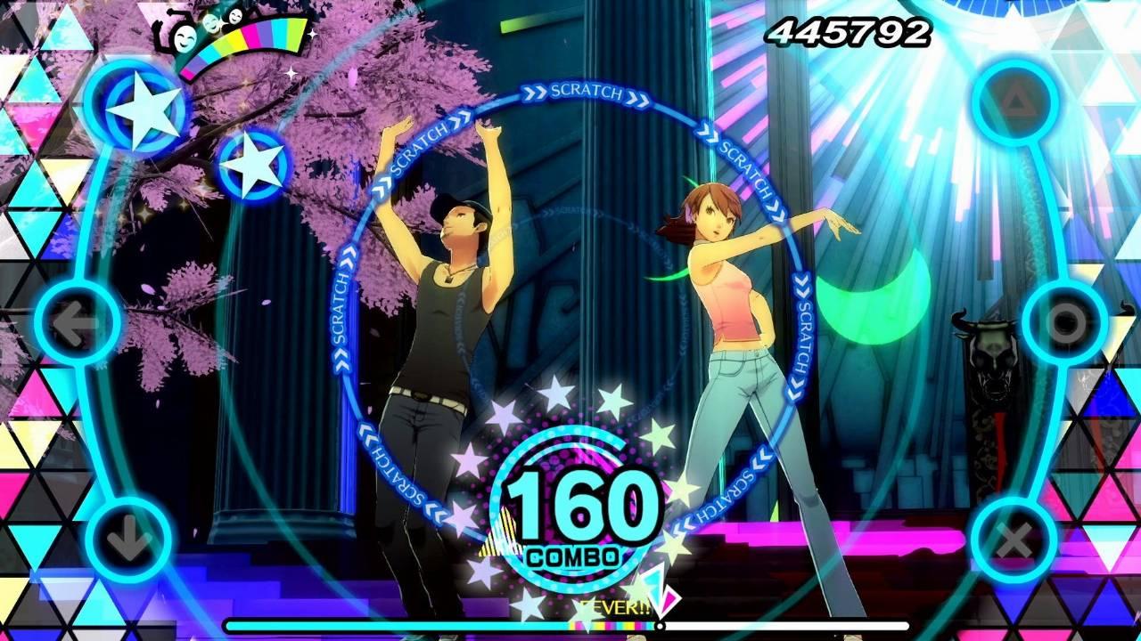 persona 5 dancing