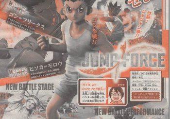 Jump Force aggiunge nuovi personaggi da One piece e HunterxHunter