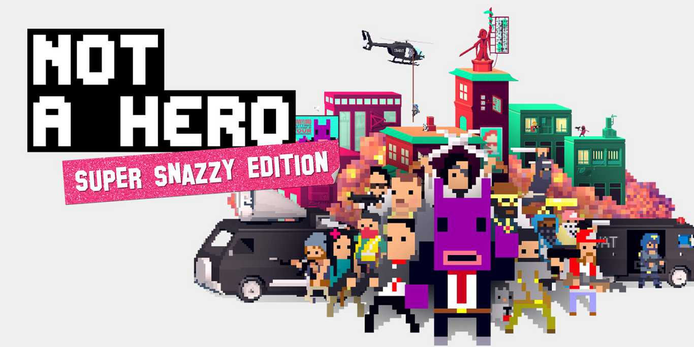 Not a Hero: Super Snazzy Edition – Recensione