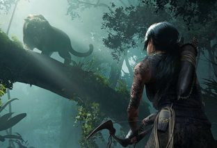 Lara diventa un tutt'uno con la giungla in Shadow of the Tomb Raider