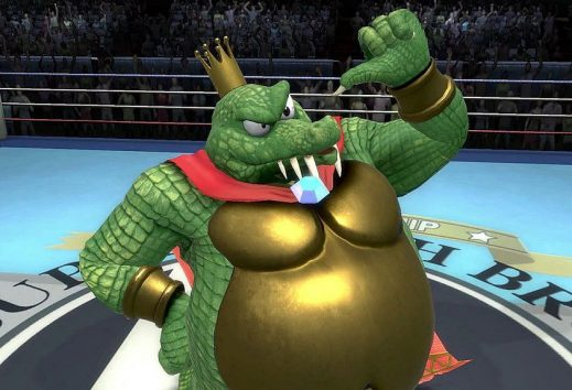 GamePlay di Super Smash Bros. Ultimate: King K. Rool prende a schiaffi Snake
