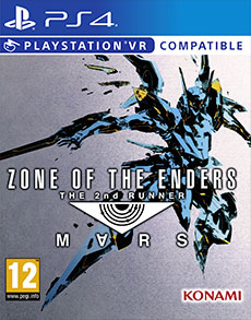 Cover Zone Of The Enders: The 2nd Runner M∀RS