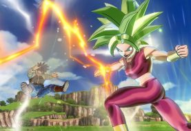 Kefla e Super Baby Vegeta in Dragon Ball Xenoverse 2
