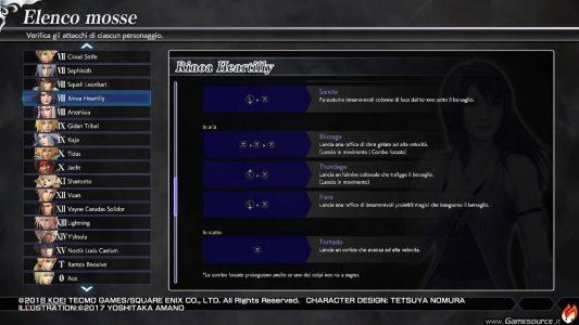 Dissidia Final Fantasy NT Rinoa