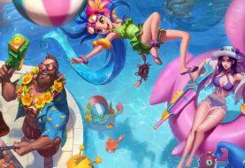 League of Legends: festa in piscina 2018