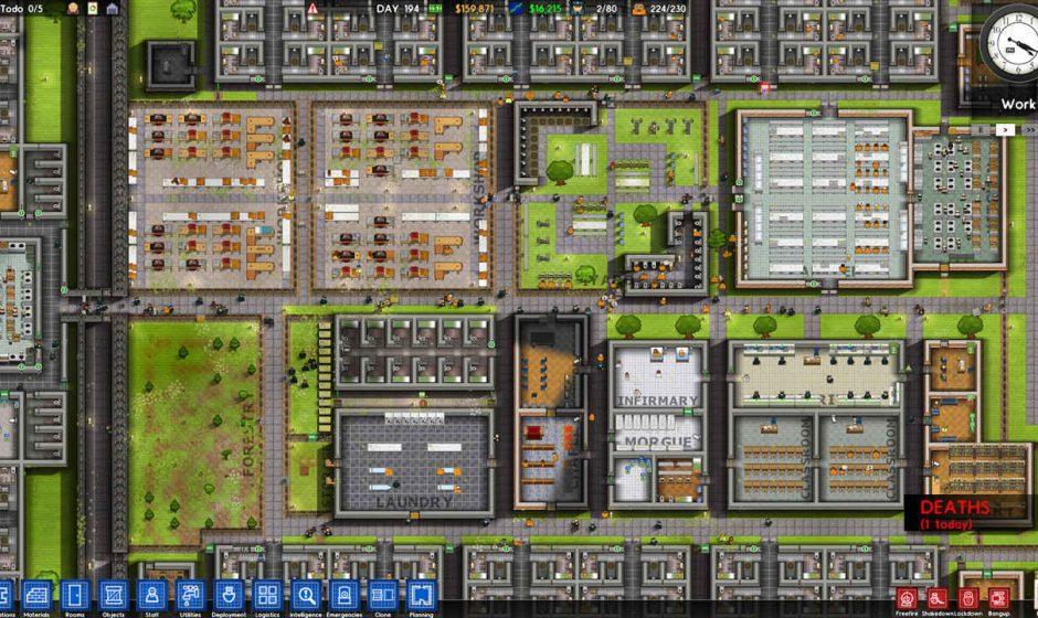 Prison Architect, Paradox Interactive acquisisce i diritti del gioco