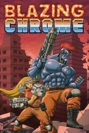 Cover Blazing Chrome
