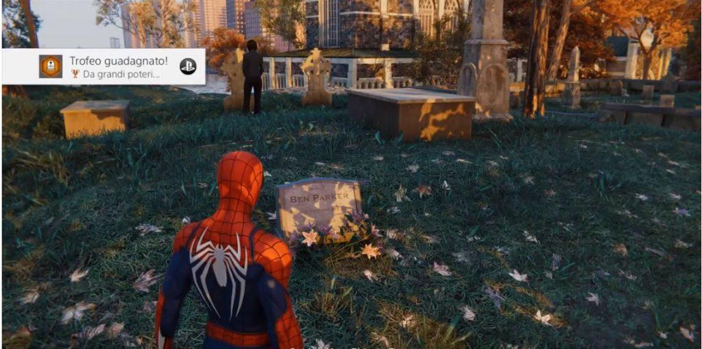 Spider-Man Zio Ben