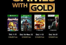 Annunciati i Games With Gold di ottobre