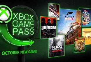 Ad ottobre in Xbox Game Pass arrivano Wolfenstein, Forza Horizon 4 e molto altro