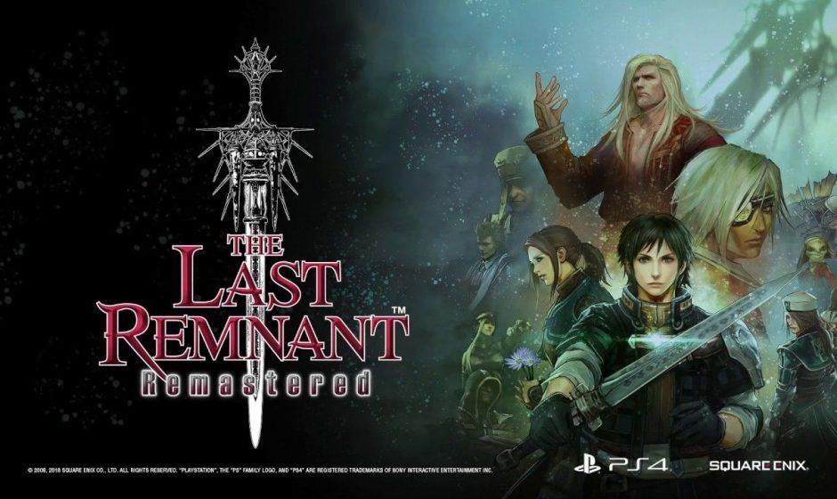 The Last Remnant Remastered si mostra per la prima volta