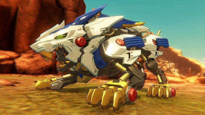 Primo screenshot di Zoid Wild Game.