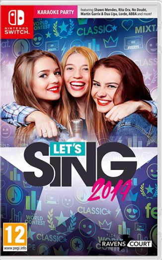 Cover Let's Sing 2019