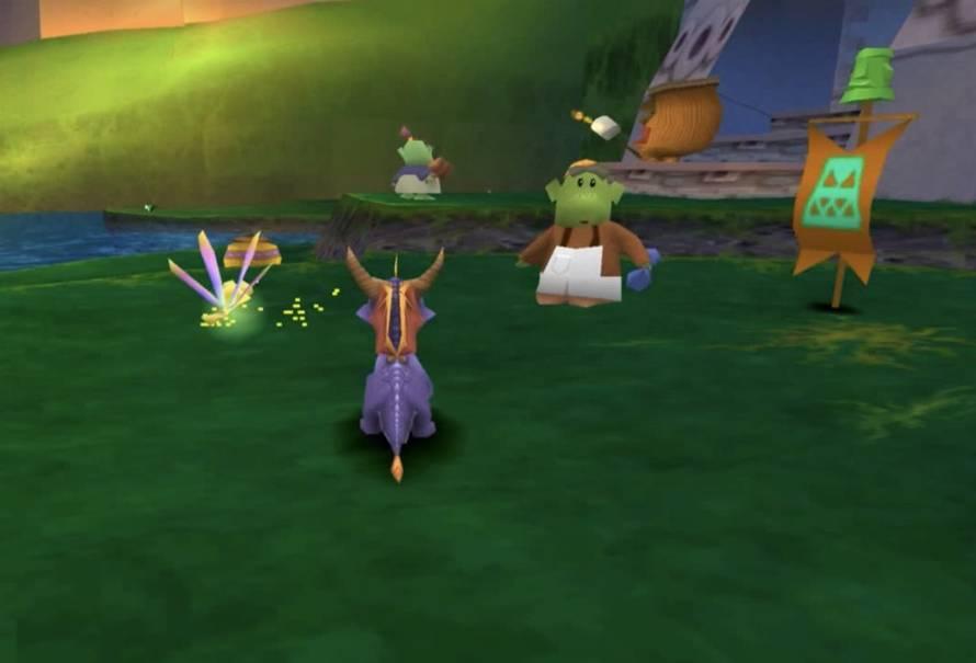 Spyro stage