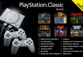 Ecco la lista dei 20 titoli che usciranno con PlayStation Classic