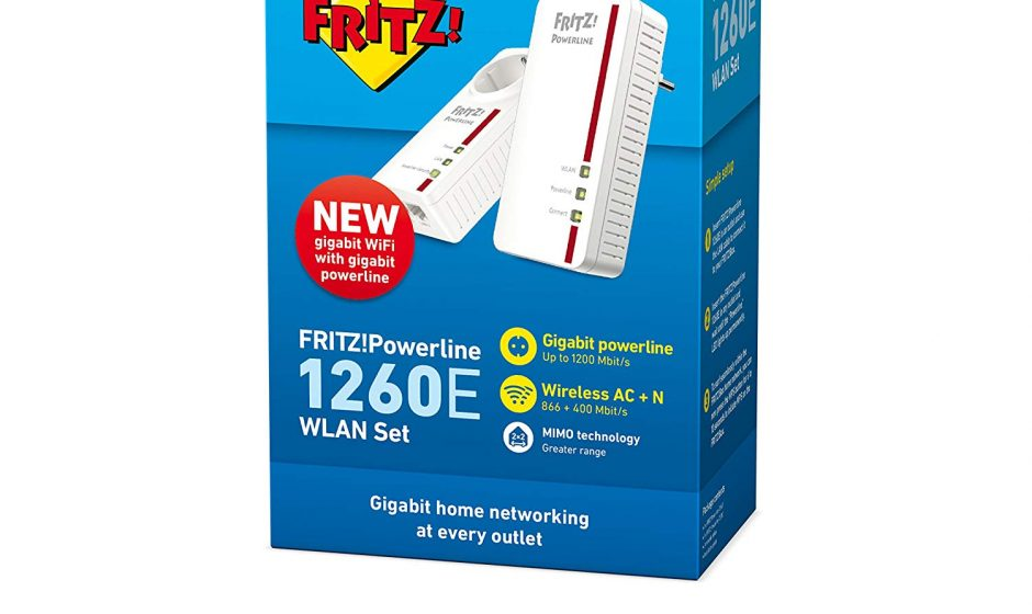 FRITZ!Powerline 1260E WLAN Set - Recensione