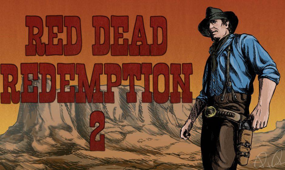 La nostra copertina speciale per Red Dead Redemption 2
