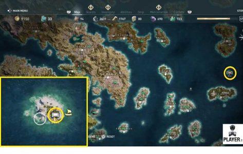 tridente poseidone  Assassin's Creed: Odyssey come trovare il tridente di Poseidone ...